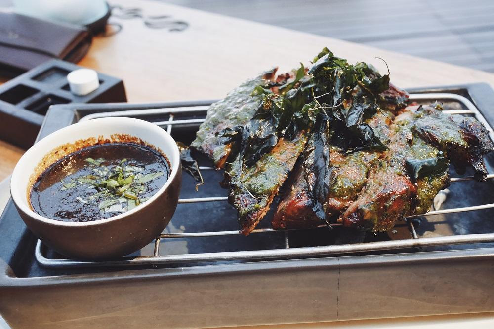 Grilled Marinated Ribeye