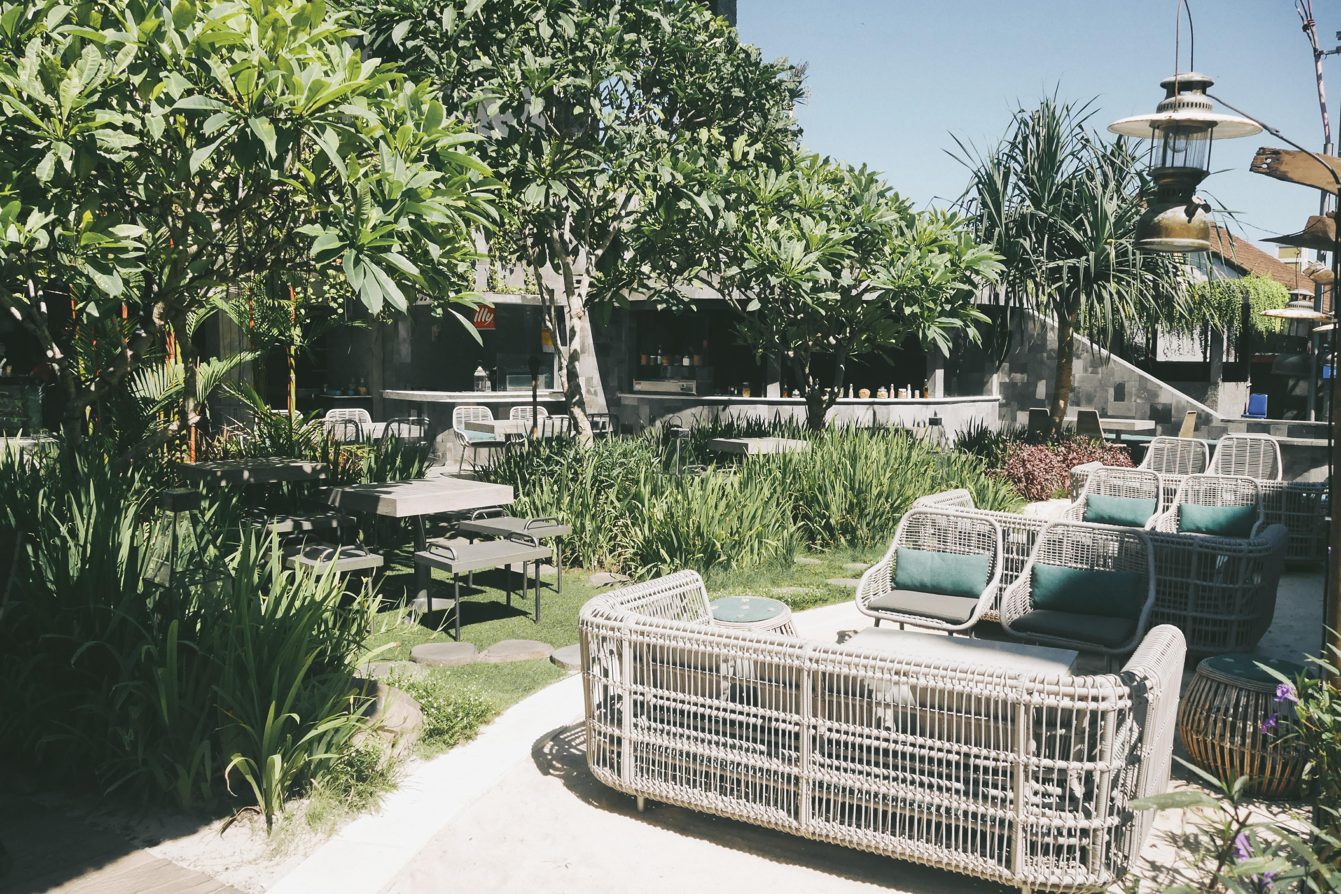 Konsep Taman relax dan friendly