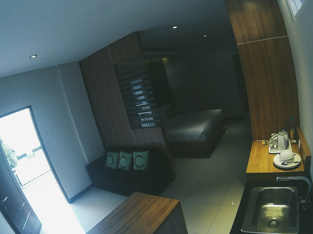 Ruangan yang sangat luas