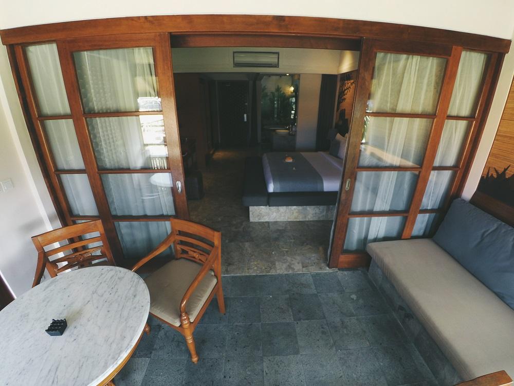 Balkon kamar