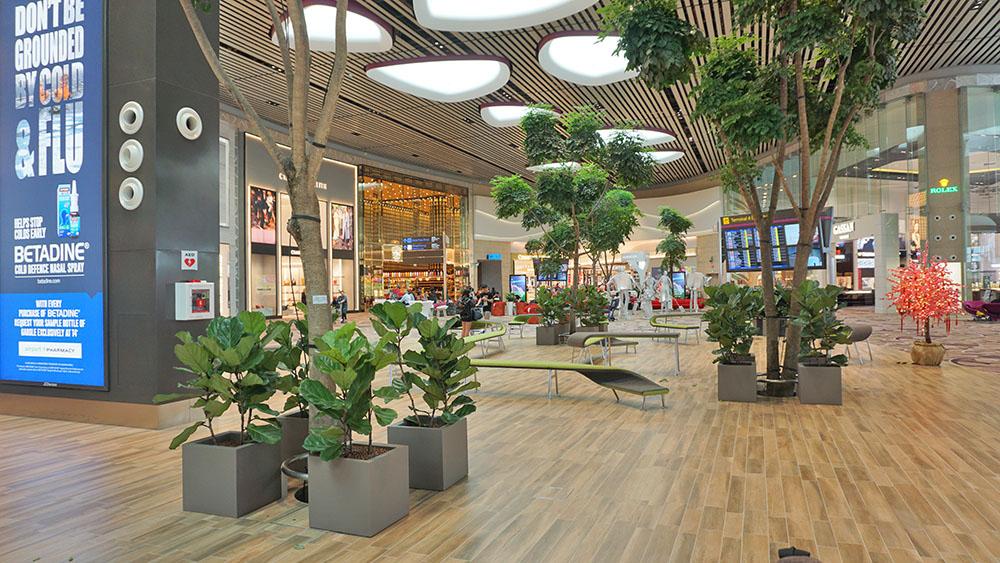 Terminal 4, Bandara Changi Singapore