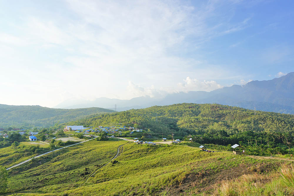 Bukit Teletubbies Sentani Jayapura