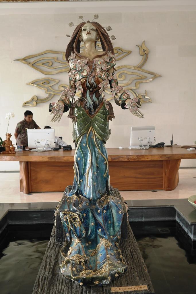 Patung Dewi Drupadi