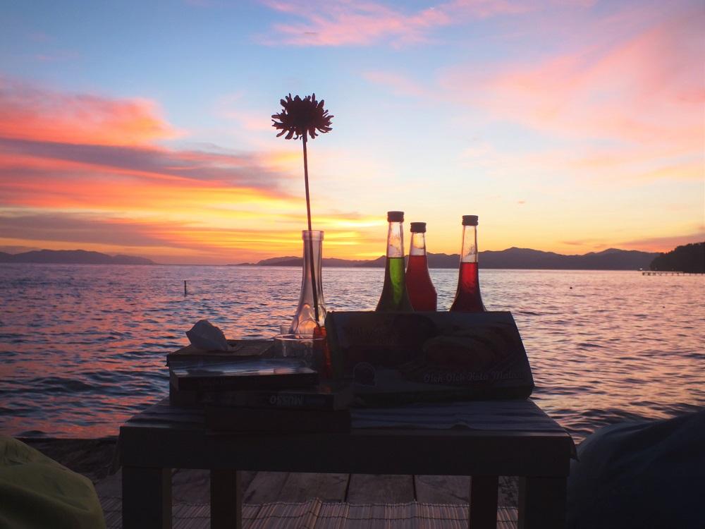 Sunset @ Hamueco Dive Resort