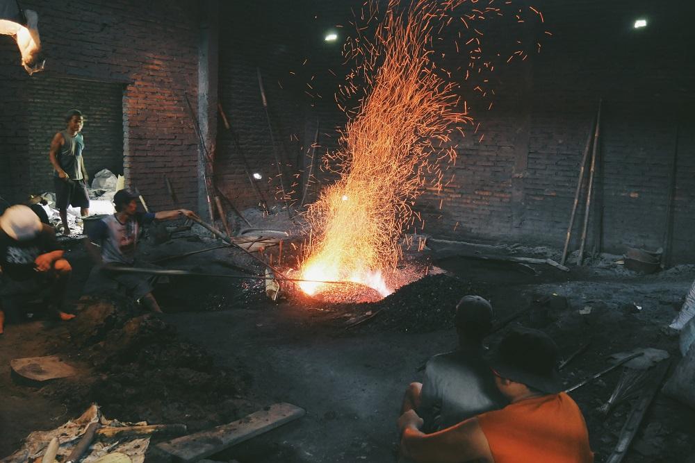 Proses Pembuatan Gamelan