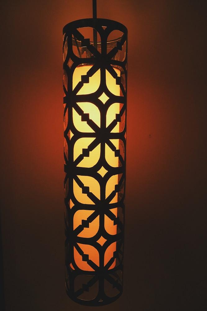 Detail Lampu Batik