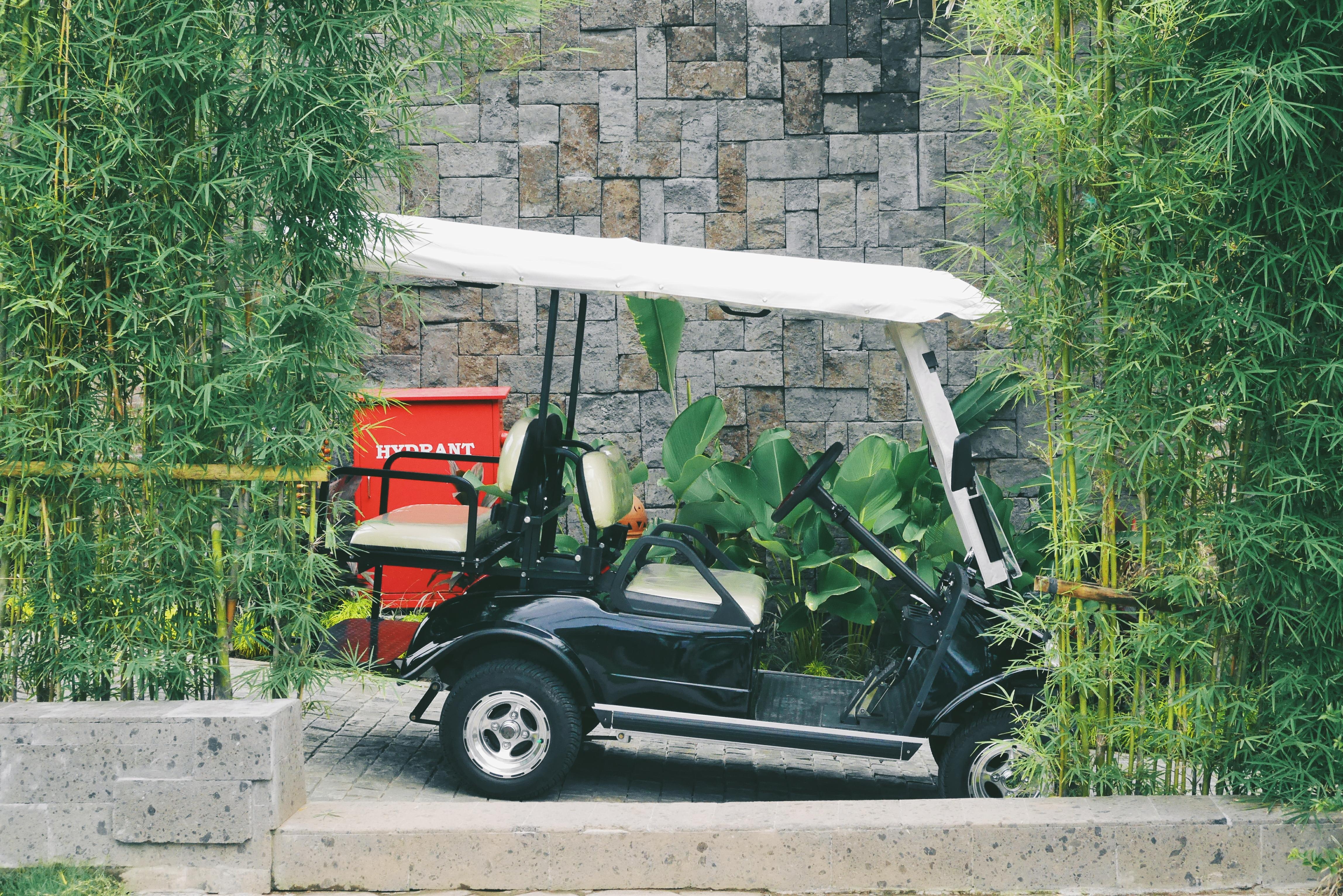 Kendaraan untuk berkeliling Villa
