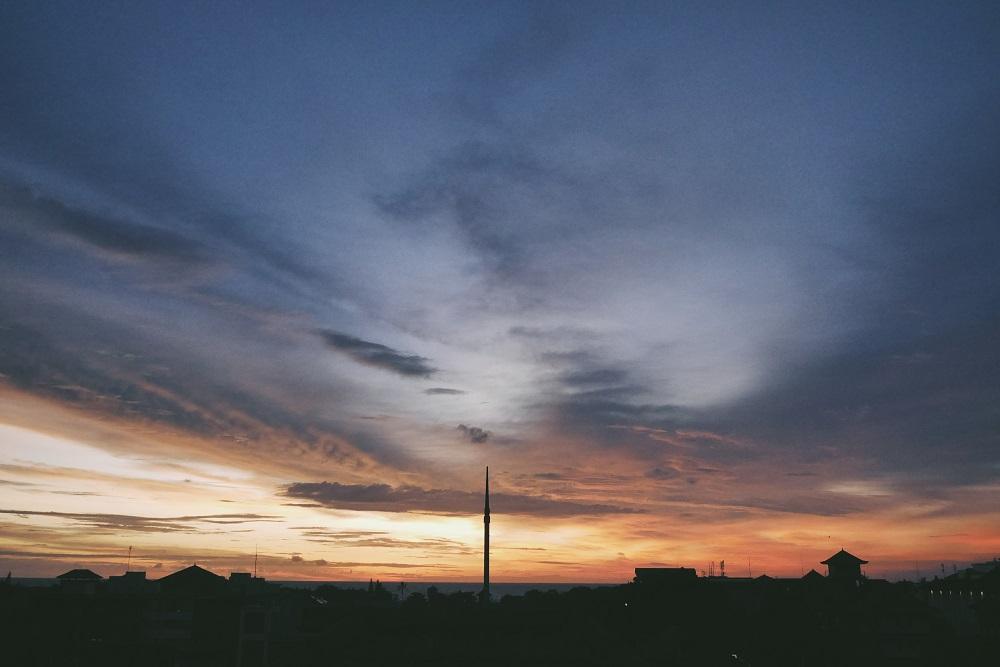 Sunset dari Rooftop