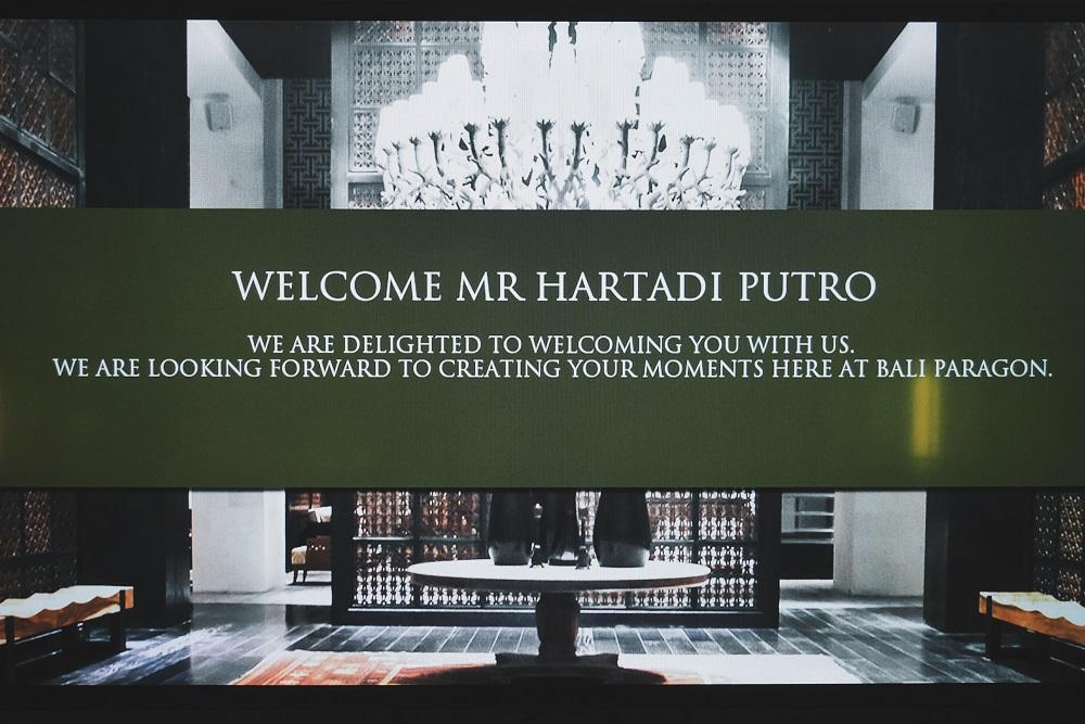 Ucapan Selamat Datang
