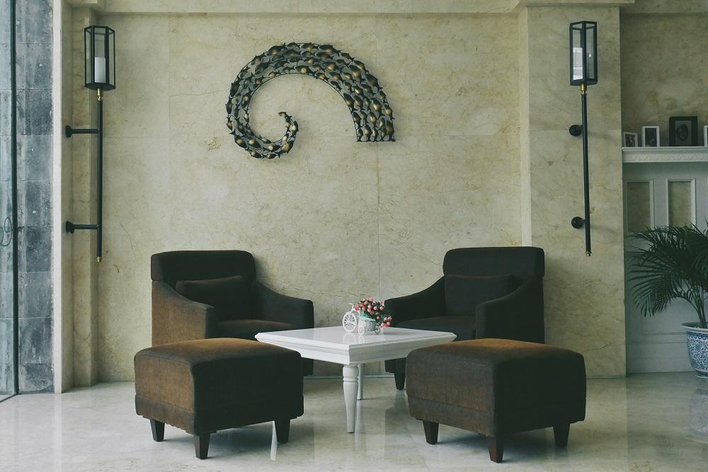 Sofa di pojok Lobby