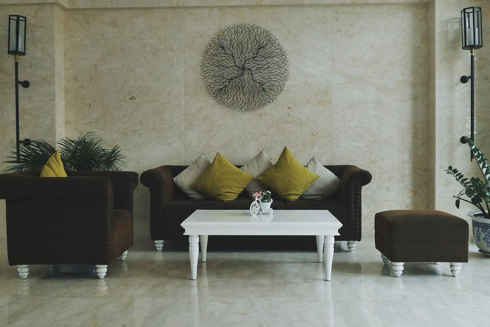 Sofa di depan Recepsionis